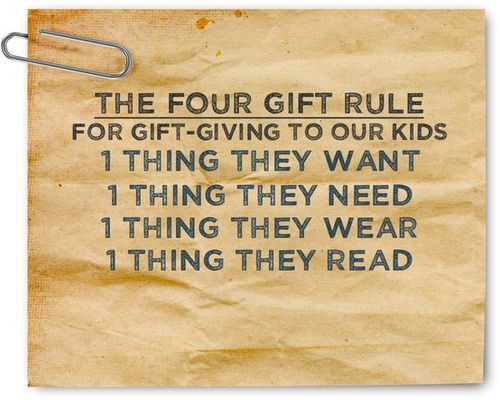 four gift rule