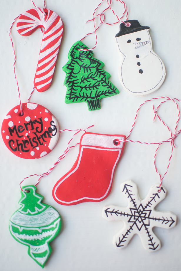 Frugal Holidays Diy Clay Baked Ornaments 5 Inexpensive Christmas