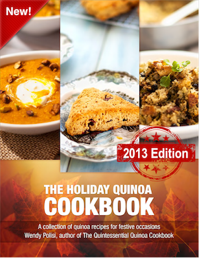 holiday cooking quinoa book