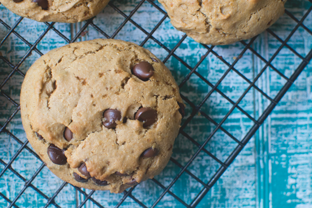 chocolate chip cookies vegan + gluten-free