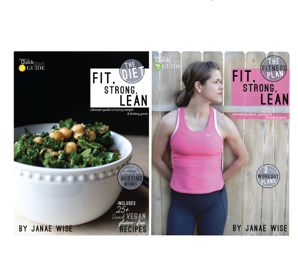 Fit, Strong, Lean bundle -- SAVE 15%