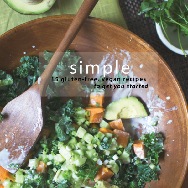 Simple: 15 recipes ecookbook
