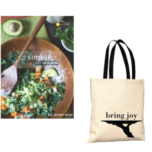 Simple ecookbook + TOTE at 33% off!