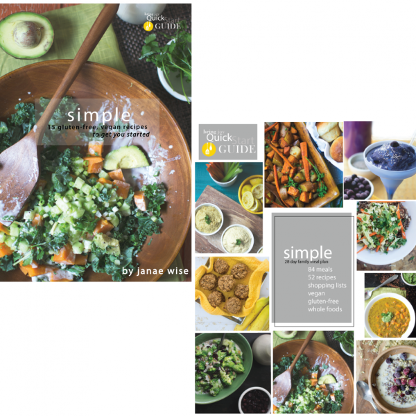 Simple ecookbook + 28 day meal plan -- SAVE 30%