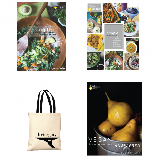Vegan Starter Bundle + TOTE -- 15% off!