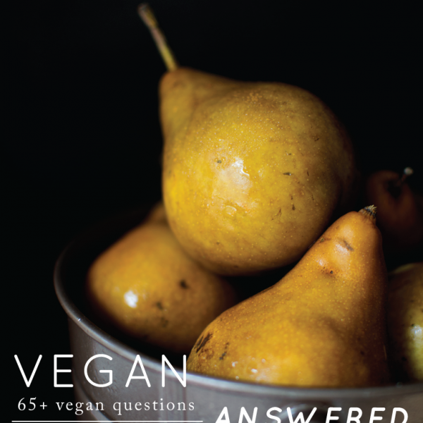 Vegan Answered ebook