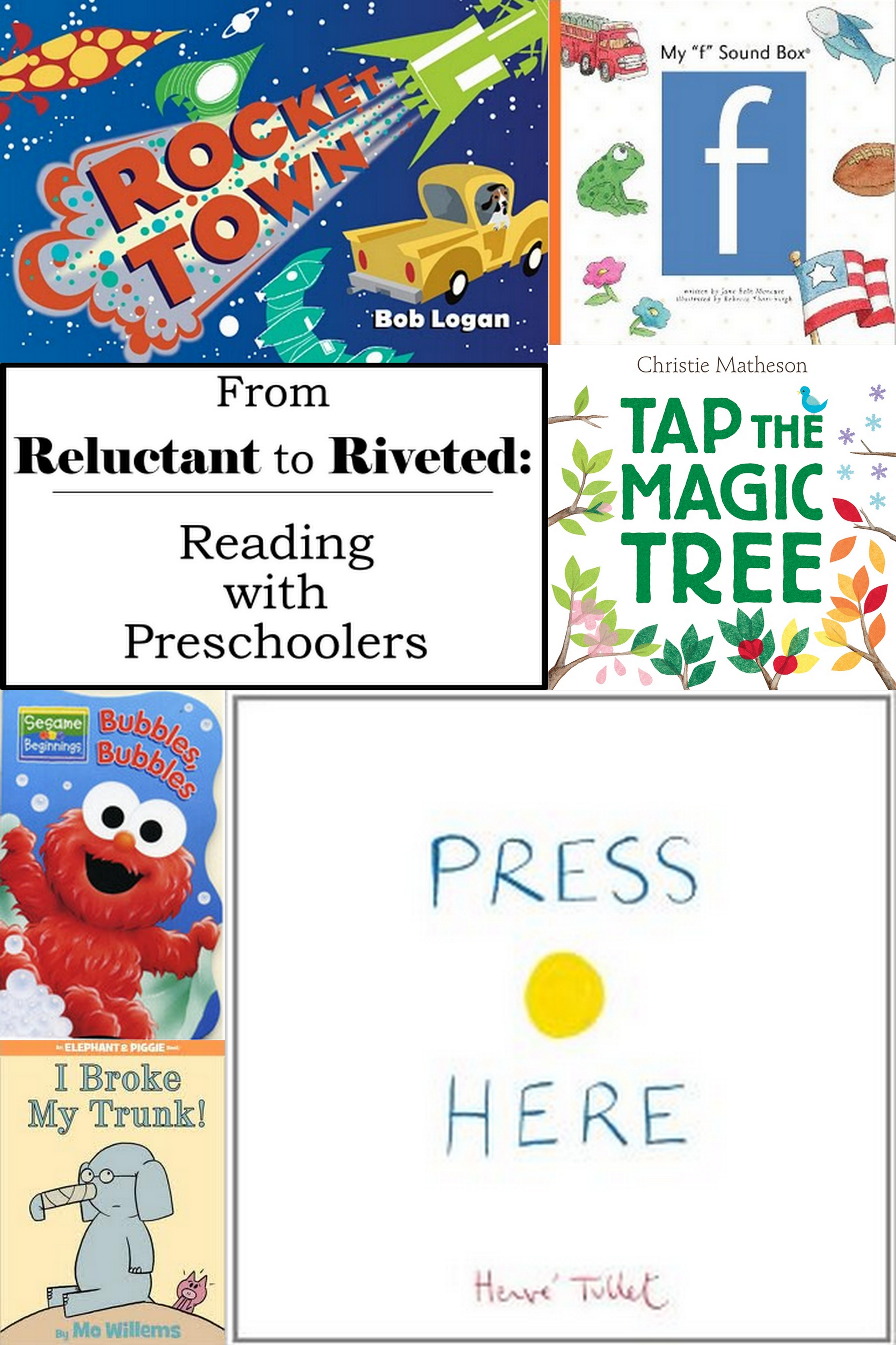 5 must-read books for preschoolers